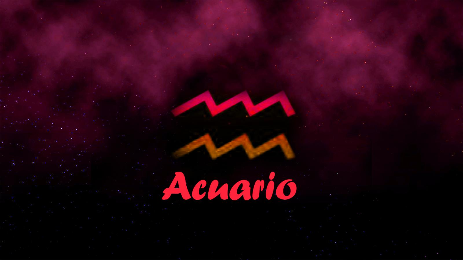 Horoscopo de acuario hoy
