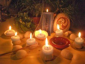 Velas en Los Rituales